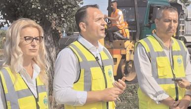 Târgoviste: Lucrări de modernizare la intrarea dinspre Găeşti