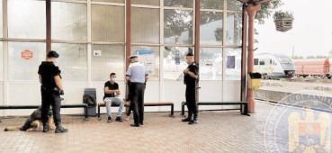Amplă acţiune de control desfăşurată în Gara Târgovişte