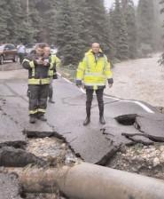 Preşedintele CJ, Corneliu Ştefan a solicitat de urgenţă, măsuri de remediere a dezastrului din zona montană, afectată de viitură