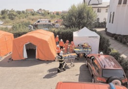 Cutremur resimțit puternic în Dâmbovița, un exercițiu pentru gestionarea unui astfel de eveniment
