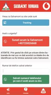Salvamont a lansat noua versiune a aplicației de mobil, disponibilă în acest moment pentru terminalele Android
