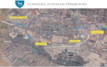 Centura Găeștiului a primit aviz favorabil de la CNAIR, o investiție inițiată de CJ Dâmbovița