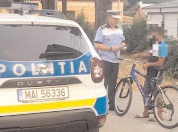 Recomandări de la polițiști pentru șoferi, bicicliști și pietoni