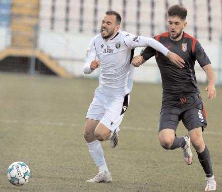 NEMEC INGROAPA CHINDIA. FC Voluntari – Chindia Targoviște 2-1 (1-0)
