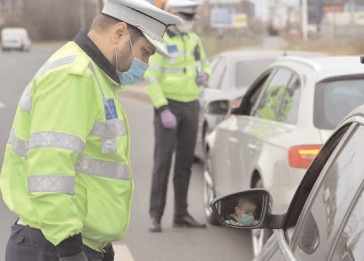 Razie a polițiștilor de la rutieră